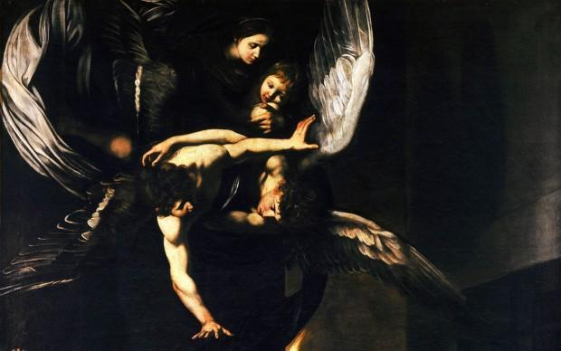 Caravaggio_-_Sette_opere_di_Misericordia_1607,-Napoli