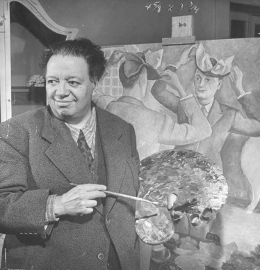 Diego Rivera  (Photo by Ed Clark/The LIFE Images Collection/Getty Images)