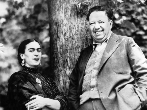 Diego Rivera e Frida Kahlo in Messico (Photo by Keystone-France/Gamma-Keystone via Getty Images)