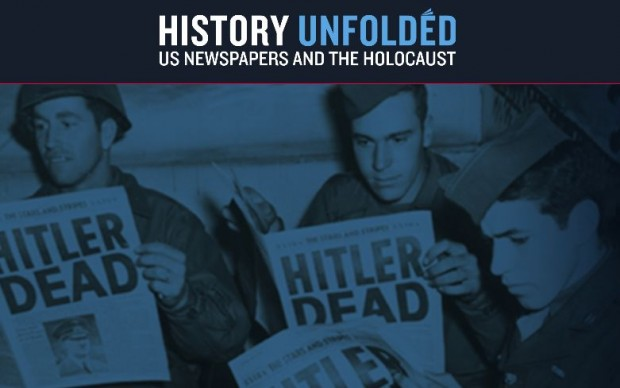 History Unfolded_ US Newspapers and the Holocaust