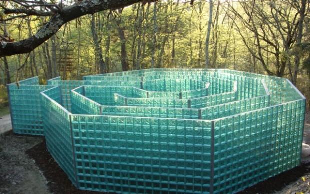 Jeff Saward UK The Labyrinth parco sculture del chianti