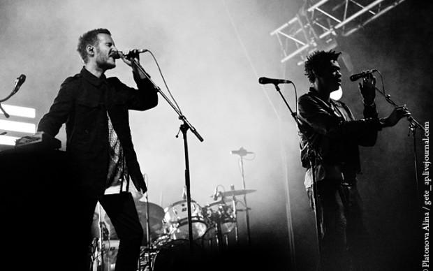 Massive Attack in concerto a San Pietroburgo, 2010