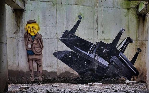 Os-Gemeos-street-art-palais-de-tokyo-parigi-sotterranei-pianoforti-rubati-nazisti