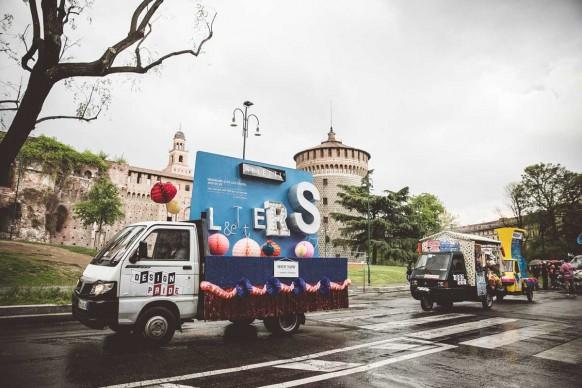 Il carro Seletti al Design Pride, Milano - 13 aprile 2016. Ph Meschina
