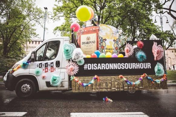 Il carro DiSaronno al Design Pride, Milano - 13 aprile 2016. Ph Meschina