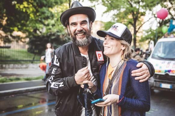 Stefano Seletti e Alessia del Corona al Design Pride, Milano - 13 aprile 2016. Ph Meschina