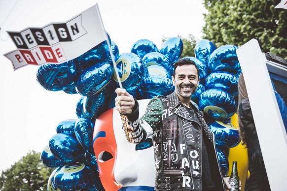 Fabio Novembre al Design Pride, Milano - 13 aprile 2016. Ph Meschina