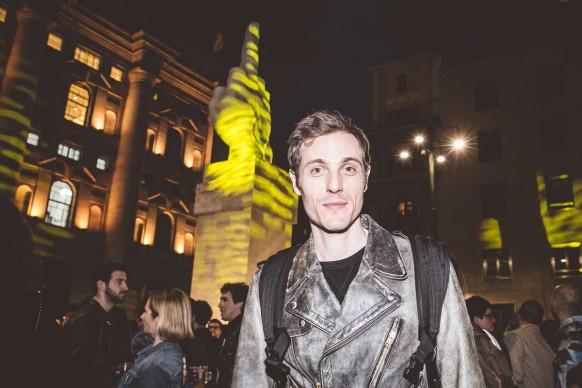Eros Galbiati al Design Pride, Milano - 13 aprile 2016. Ph Meschina