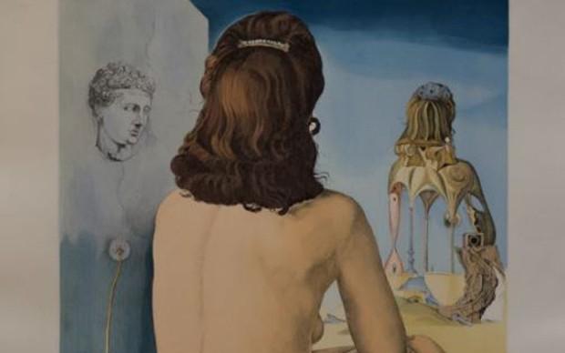 Salvador-Dali,-Ma-femme,-litografia,-58x80
