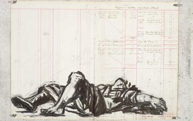 William-Kentridge-disegni-per-Triumphs-Laments Roma Tevere
