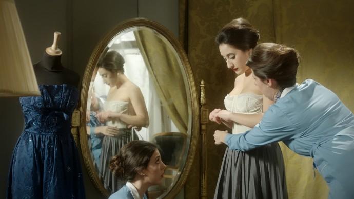 Una scena da Artists In Love - Maria Callas & Aristotele Onassis