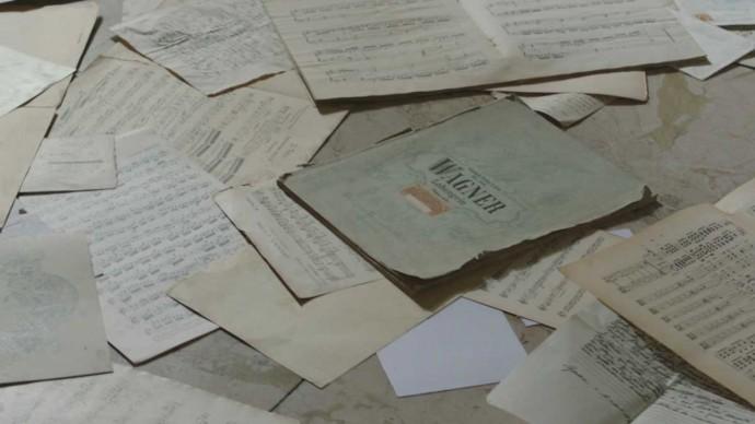 Alcuni spartiti delle opere composte da Richard Wagner
