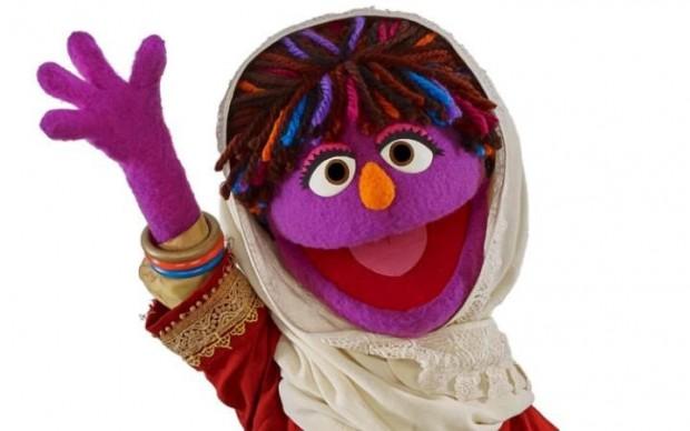 zari sesame street muppet bambina afghana diritti donne educational