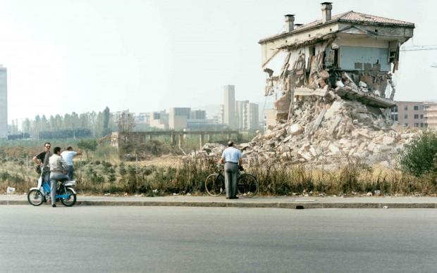 © Luigi Ghirri, Sassuolo, 1985, Courtesy Biblioteca Panizzi