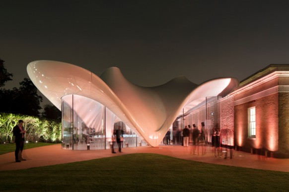 Zaha Hadid Architects,  Serpentine Sackler Gallery, London. Photo credit: Luke Hayes