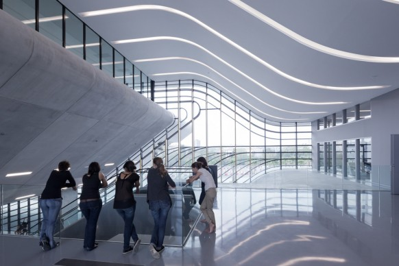 Zaha Hadid Architects,  Pierres vives ZHA. Photo credit: ZHA