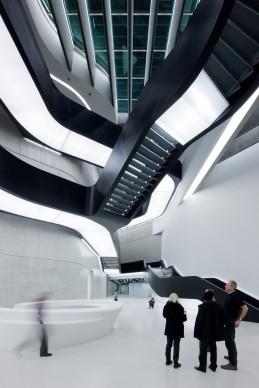 Zaha Hadid Architects,  MAXXI Museum of XXI Century Art, Rome. Photo credit: Iwan Baan