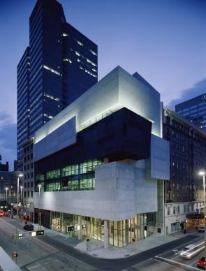 Zaha Hadid Architects,  Contemporary Arts Center, Cincinnati. Photo credit: Roland Halbe