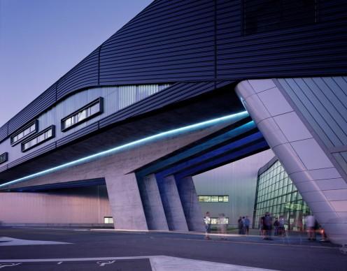 Zaha Hadid Architects, BMW Central Building, Leipzig. Photo credit: Helene Binet