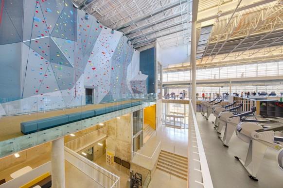 Cibinel Architects Ltd + Batteriid Architects, Active Living Centre, University of Manitoba - Canada. Photo credit: Jerry Grajewski