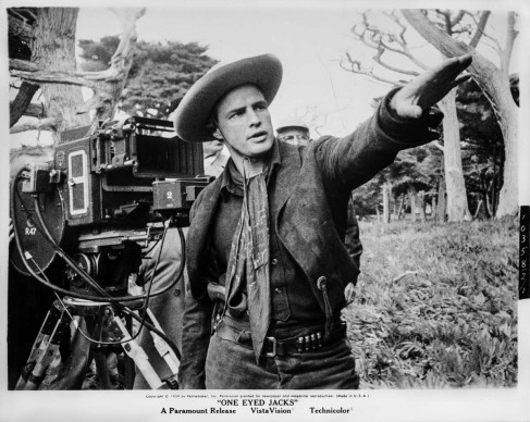 Marlon Brando, interprete e regista del film One-Eyed Jacks