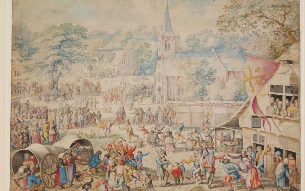 Jacob Savery, A Village Kermis, 1598, (c) Victoria and Albert Museum, London