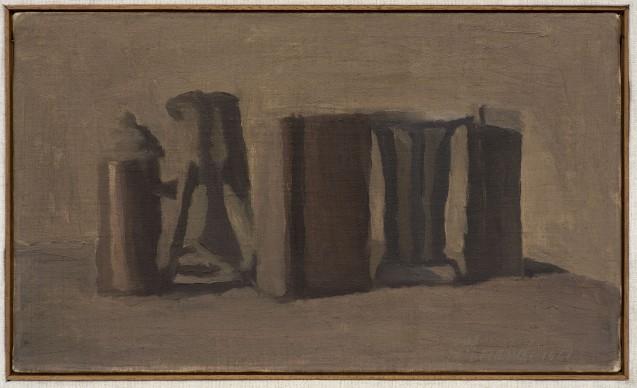 Giorgio Morandi, Natura morta, 1941, Olio su tela, Morat-Institut für Kunst und Kunstwissenschaft, Freiburg im Breisgau © 2016, ProLitteris, Zürich