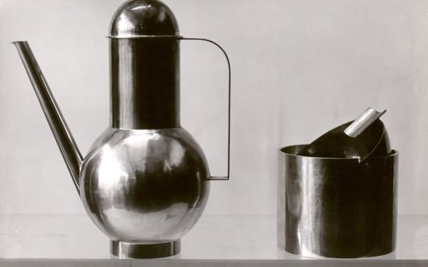 Lucia Moholy_Bauhaus metal workshop_objects designed by Marianne Brandt 1924 © Bauhaus-Archiv Berlin_1