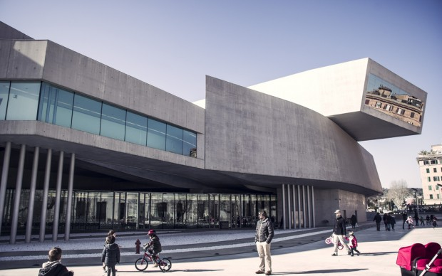 MAXXI, Roma photo by chrisobayda fonte Flickr