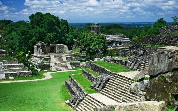 Palenque città maya archeologia messico