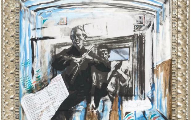 RON WOOD - UNIQUE NUMBER 1 - Donazione per Tribute to Venice_DEF