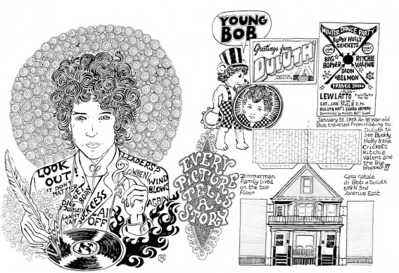Bob Dylan Play Book © Matteo Guarnaccia/24 ORE CULTURA