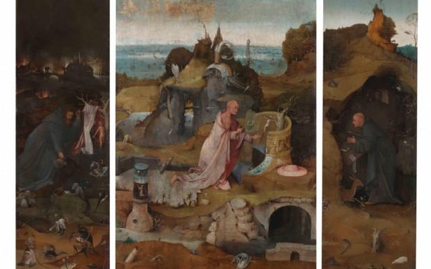 bosch Trittico-Ermiti-dopo-restauro gallerie dell'accademia venezia