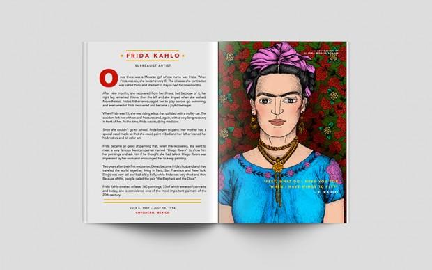 frida kahlo goodnight stories for rebel girls libro illustrato infanzia donne esempio