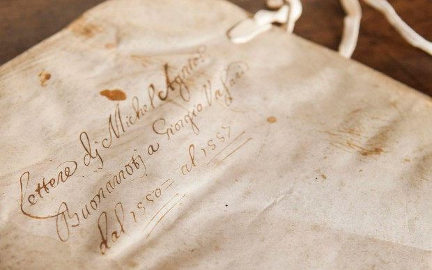 lettere-michelangelo-giorgio-vasari-archivio-mostra-firenze