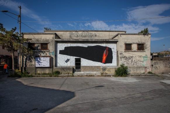 108, Nel regno dei Feaci, Ex Mercato in Piazza A.Garibaldi. Quartiere Lido, Catanzaro; photo by Angelo Jaroszuk Bogasz