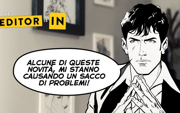 The Editor is In Dylan Dog