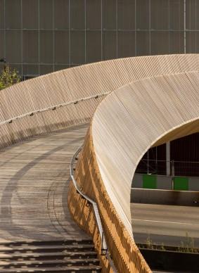 DVVD architecture, design and engineering, Cavalcavia Claude Bernard, Parigi. Photo by Luc Boegly