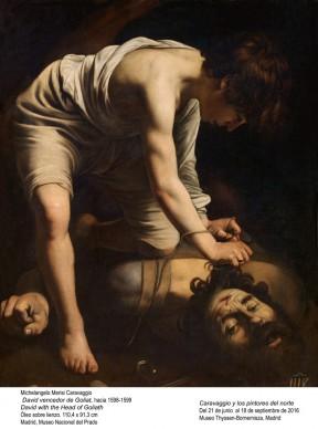 Michelangelo Merisi, detto il Caravaggio, David con la testa di Golia, 1598-1599