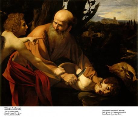 Michelangelo Merisi, detto il Caravaggio, Il sacrificio di Isacco, 1603