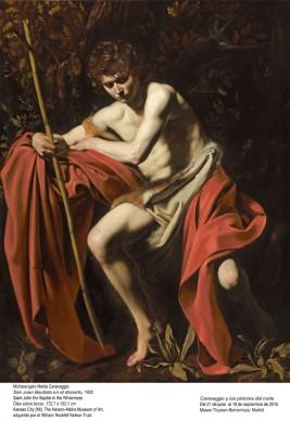 Michelangelo Merisi, detto il Caravaggio, San Giovanni Battista nel deserto, 1602