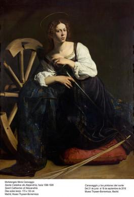 Michelangelo Merisi, detto il Caravaggio, Santa Caterina d'Alessandria, 1598-1599