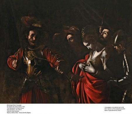 Michelangelo Merisi, detto il Caravaggio, Il martirio di Sant'Orsola, 1610