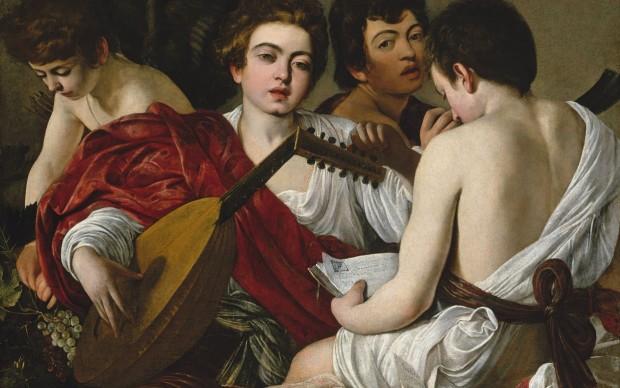 Caravaggio, I musici, 1595