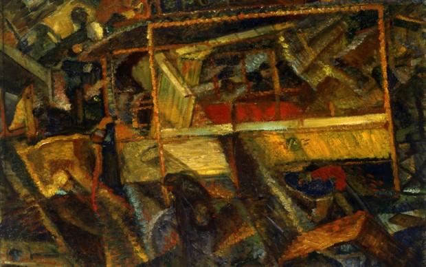 Carlo Carrà, Ciò che mi ha detto il tram, 1911