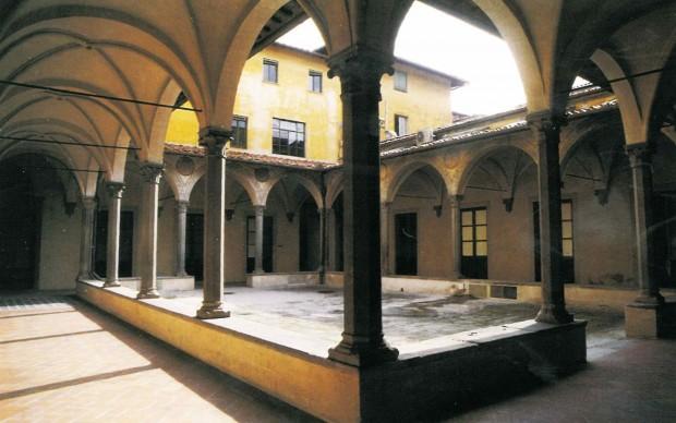 Chiostro delle Medicherie, Ospedale di Santa Maria Nuova, Firenze