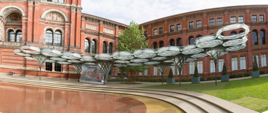 Elytra Filament Pavilion, Victoria and Albert Museum, Londra, maggio 2016 (c) Victoria and   Albert Museum, London