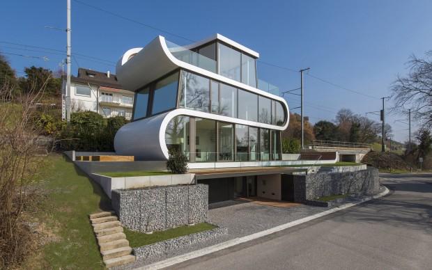 Flexhouse Evolution Design Lago di Zurigo abitazione
