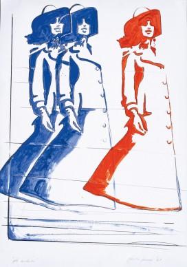 Giosetta Fioroni, Gli involucri, 1967