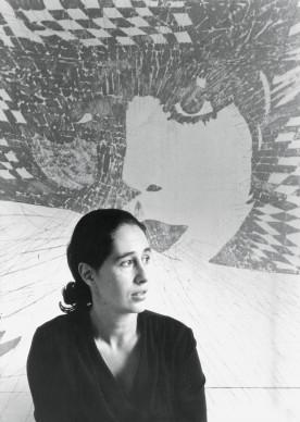 """Giosetta Fioroni, in """"Vogue"""", 1966 (foto di Elisabetta Catalano)"""